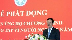 Bộ trưởng Nguyễn Mạnh Hùng kêu gọi ngành ICT hành động vì người nghèo