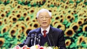 Tổng Bí thư, Chủ tịch nước Nguyễn Phú Trọng. Ảnh: VIẾT CHUNG