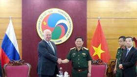 Tiếp tục tăng cường quan hệ hợp tác quốc phòng, kỹ thuật quân sự Việt Nam - Nga