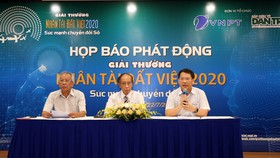 Phát động Giải thưởng Nhân tài Đất Việt 2020