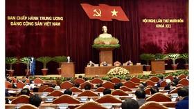 Hội nghị Trung ương 14 tiến hành giới thiệu nhân sự tham gia Bộ Chính trị, Ban Bí thư khóa mới