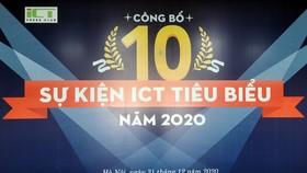 10 sự kiện ICT tiêu biểu năm 2020