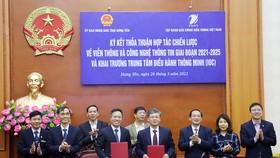 Hưng Yên hợp tác với VNPT để phát triển toàn diện hệ sinh thái điện tử