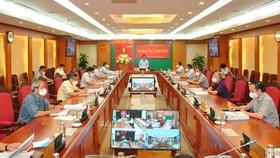 Quang cảnh kỳ họp thứ 5 của Ủy ban Kiểm tra Trung ương. Ảnh: UBKTTW