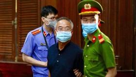 Bị cáo Nguyễn Thành Tài tại phiên tòa xét xử sơ thẩm vụ sai phạm trong hoán đổi nhà, đất số 185 Hai Bà Trưng, quận 3, TPHCM