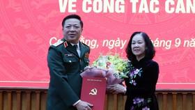 Bộ Chính trị chỉ định Trung tướng Trần Hồng Minh giữ chức Bí thư Tỉnh ủy Cao Bằng