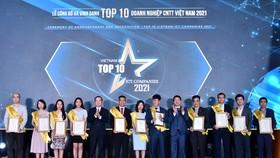Công bố và vinh danh TOP 10 doanh nghiệp CNTT Việt Nam 2021