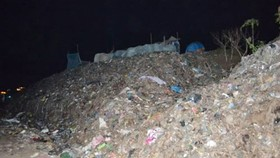 Landfills in Tra Vinh  Province is overloaded (photo: SGGP)