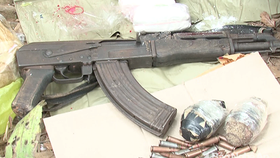 Exhibits seized in the case (Source: baonghean.vn)