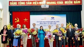 Vietnam's Cancer hospital, Curie Institute cooperate in treating cancer