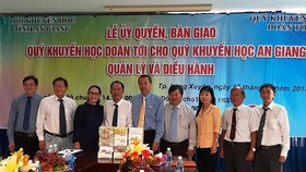 $429,242 given disadvantaged students in An Giang Province