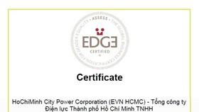 HCMC Power Corporation receives EDGE certification
