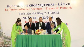France to train Vietnamese medical workers