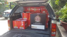 Police seize bulk of smuggled wine