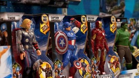 Toys produced by Hasbro firm of the US (Source: Getty images)
