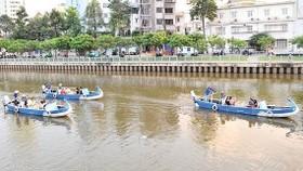 Nhieu Loc- Thi Nghe canal (Photo: SGGP)