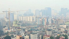 Air pollution in Hanoi is responsible for deaths (Photo: SGGP)