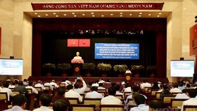 The conference held by the HCMC Party's Committee. (Photo: hcmcpv)