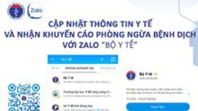 Chatbot updating citizens on Covid-19 information daily