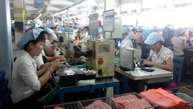 PouYuen Vietnam has approximately 62,000 employees mostly women (Photo: SGGP)