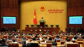 The 14th National Assembly enters the last working day of its 10th sitting on November 17. (Photo: VNA)