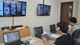 HCMC University of Medicine and Pharmacy is applying IT to monitor learning activities and lab work of its students. (Photo: SGGP)
