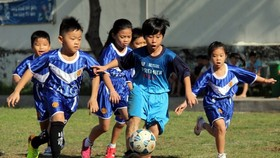 HCMC Football Federation plans to teach football in schools (Photo: SGGP)