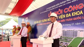 Deputy Health Minister Nguyen Truong Son speaks at the event (Photo: SGGP)