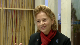 Resident Representative of the UN Development Programme (UNDP) in Vietnam Caitlin Wiesen (Photo: VNA)