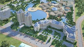 Hoa Lac Hi-Tech Park in the suburbs of Hanoi (Photo: SGGP)