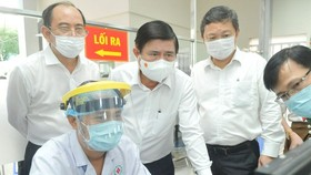 HCMC determined to prevent Covid-19 spread in medical facilities