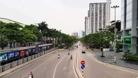 Hanoi not begin social distancing restrictions: Secretary Dinh Tien Dung