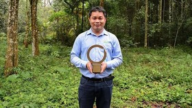 First Vietnamese conservationist receives largest environment award