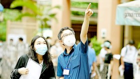 HCMC detects two infected Covid-19 students in high school graduation exam