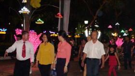 Walking street was in Nguyen Van Tri street