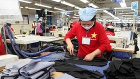 The factory of the Garment 10 JSC in Hanoi (Photo: VNA)