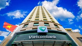 The headquarters of Vietcombank in Hanoi (Photo: VNA)