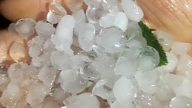 Hail leaves one dead, nearly 5,000 damaged houses in North