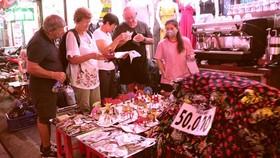 International visitors in Ho Chi Minh City (Photo: Phong Lam)