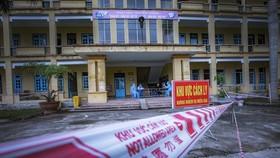 A COVID-19 quarantine area at a military school of Hoa Binh province (Photo: VNA)