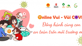 An online campaign is held to help parents provide advice to children on how to use the Internet wisely and safely while staying at home amid the COVID-19 pandemic. (Photo: Internet)