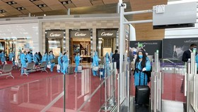 Airports asked to prevent community infections from repatriation flights