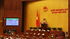 Overview of an NA plenary session (Source: VNA)