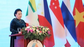 Chairwoman of the National Assembly Nguyen Thi Kim Ngan will deliver an opening speech at the 41st General Assembly of the ASEAN Inter-Parliamentary Assembly (AIPA-41). (Photo: VNA)