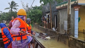 Flood dead toll rises to eight in Quang Binh Province