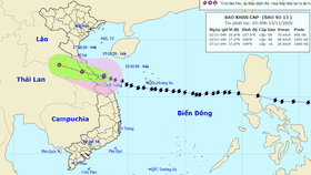 Vamco tends to intensify slowly, downgrade to tropical depression in Thailand