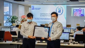 Noi Bai Airport receives Airport Health Accreditation certification from ACI