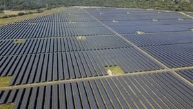 Sao Mai solar power plant in An Giang province (Photo: VNA)