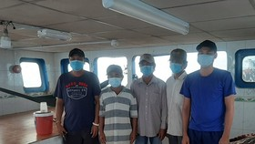 Five crew members illegally enter territorial waters of Phu Quoc