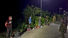 Long An detects ten illegal immigrants from Cambodia